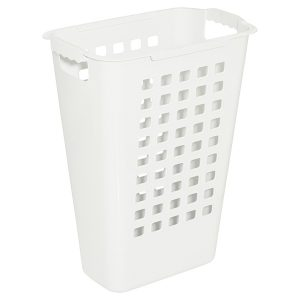 sorting hamper white