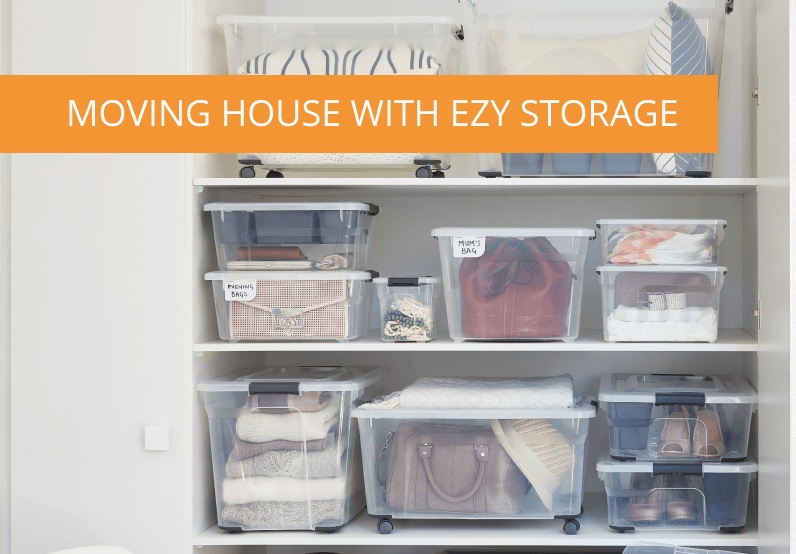 Ezy Storage's Top Tips For Packing and Moving