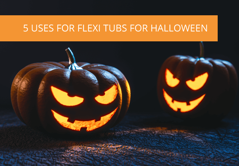 5 Ways The Flexi Tub Will Save The Day This Halloween