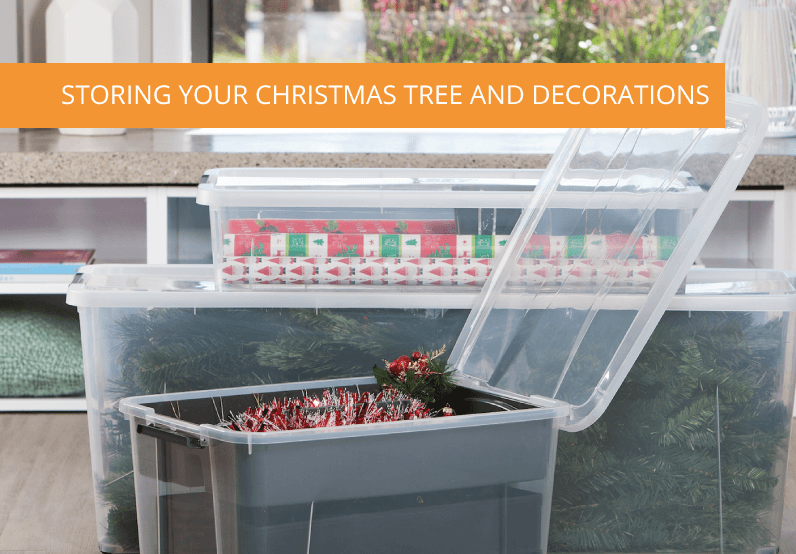 Storing Your Christmas Tree and Decorations Safely And Neatly