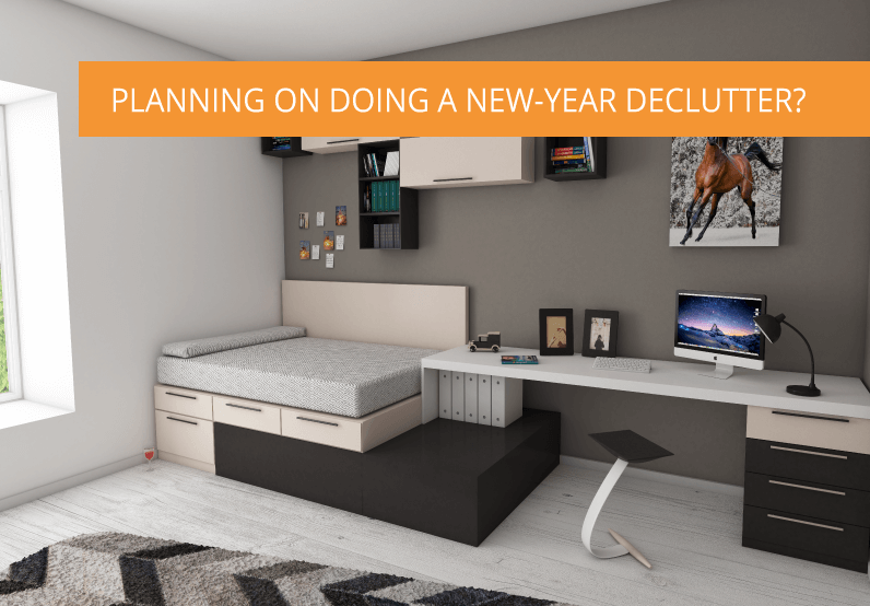 Planning On Doing a New-Year De-Clutter? Here's Our Top Tips
