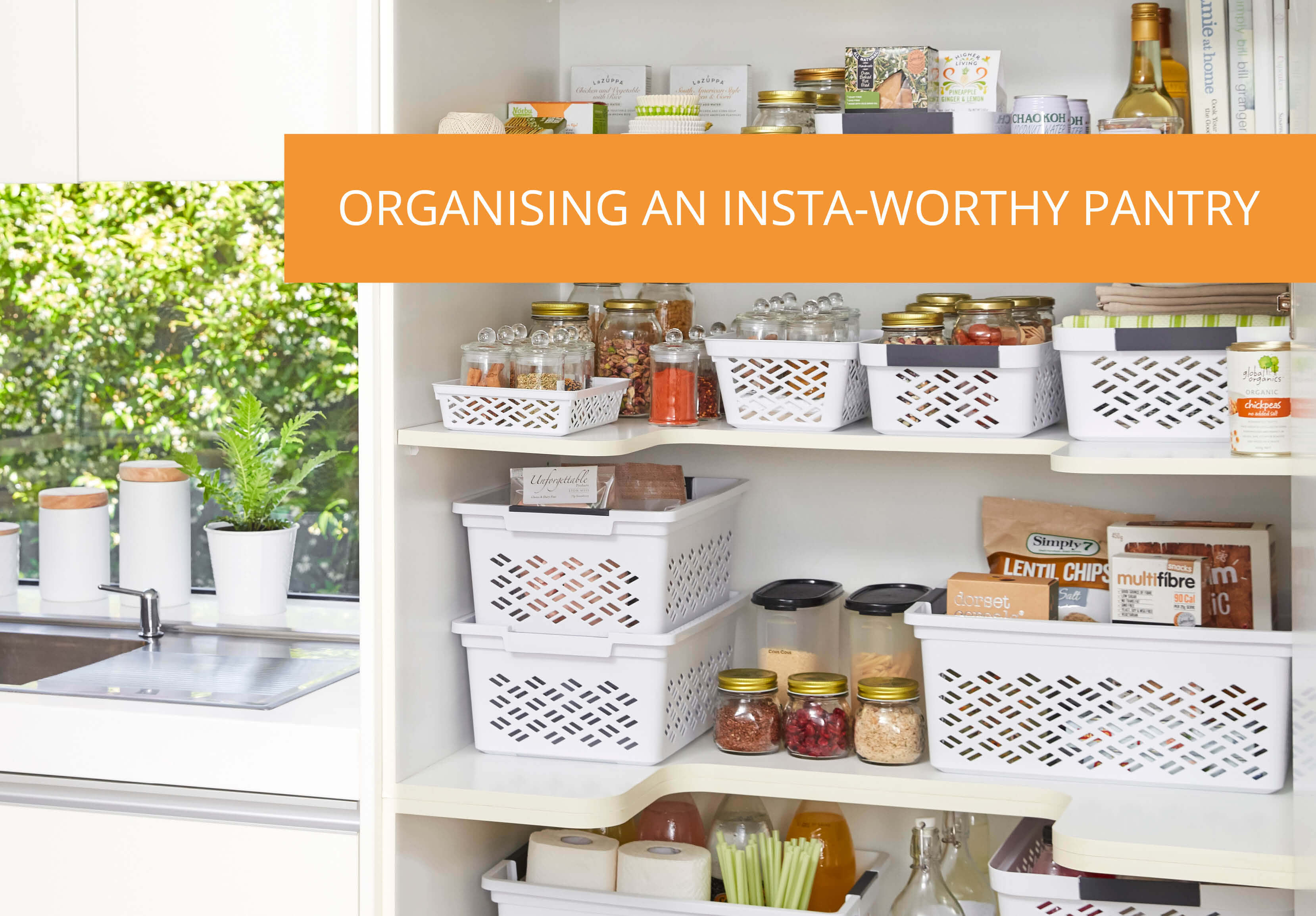 Kitchen Pantry Storage Ideas Organising An Insta Worthy Pantry