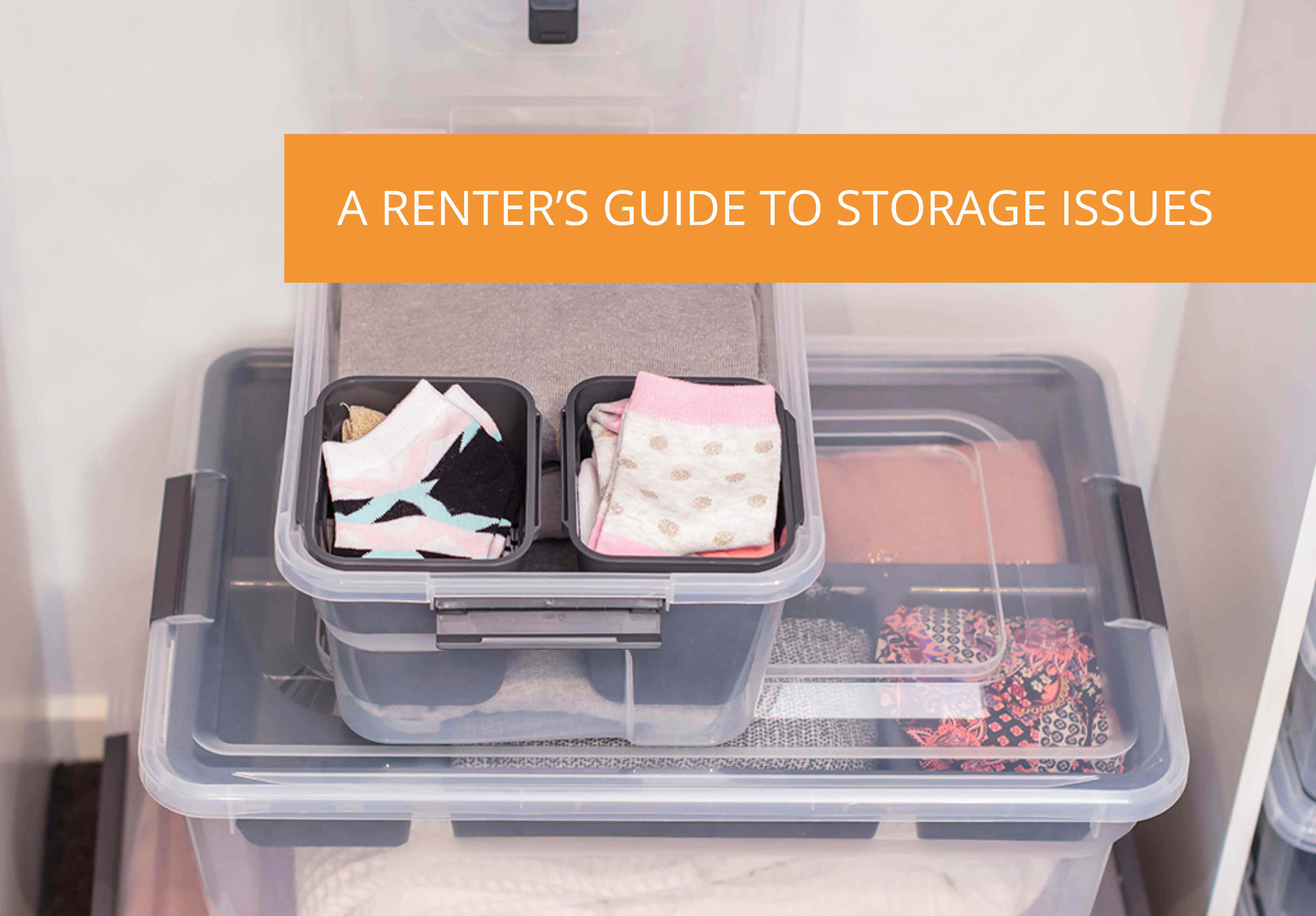 A Renter's Guide To Storage Issues