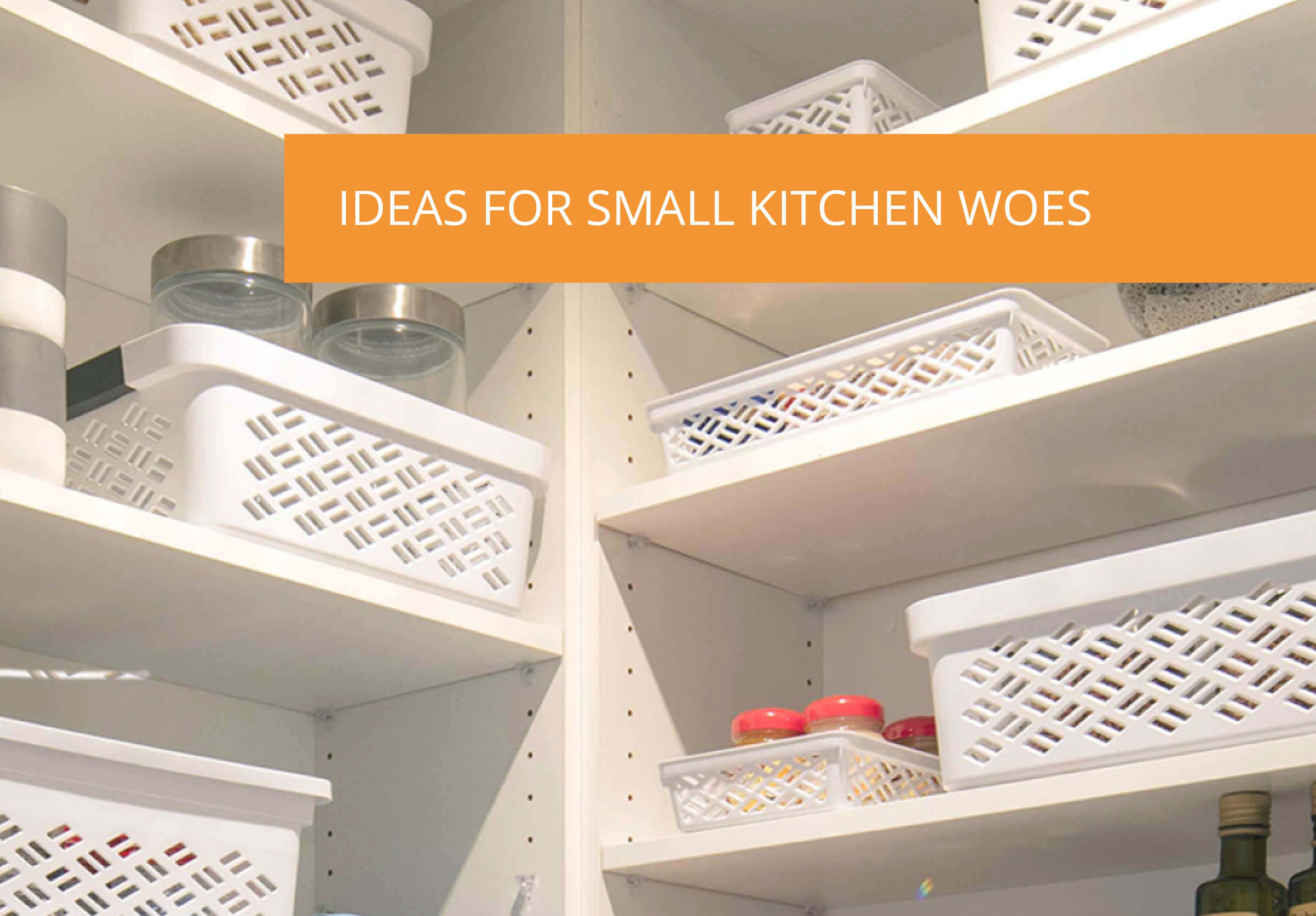 Ideas For Small Kitchen Woes