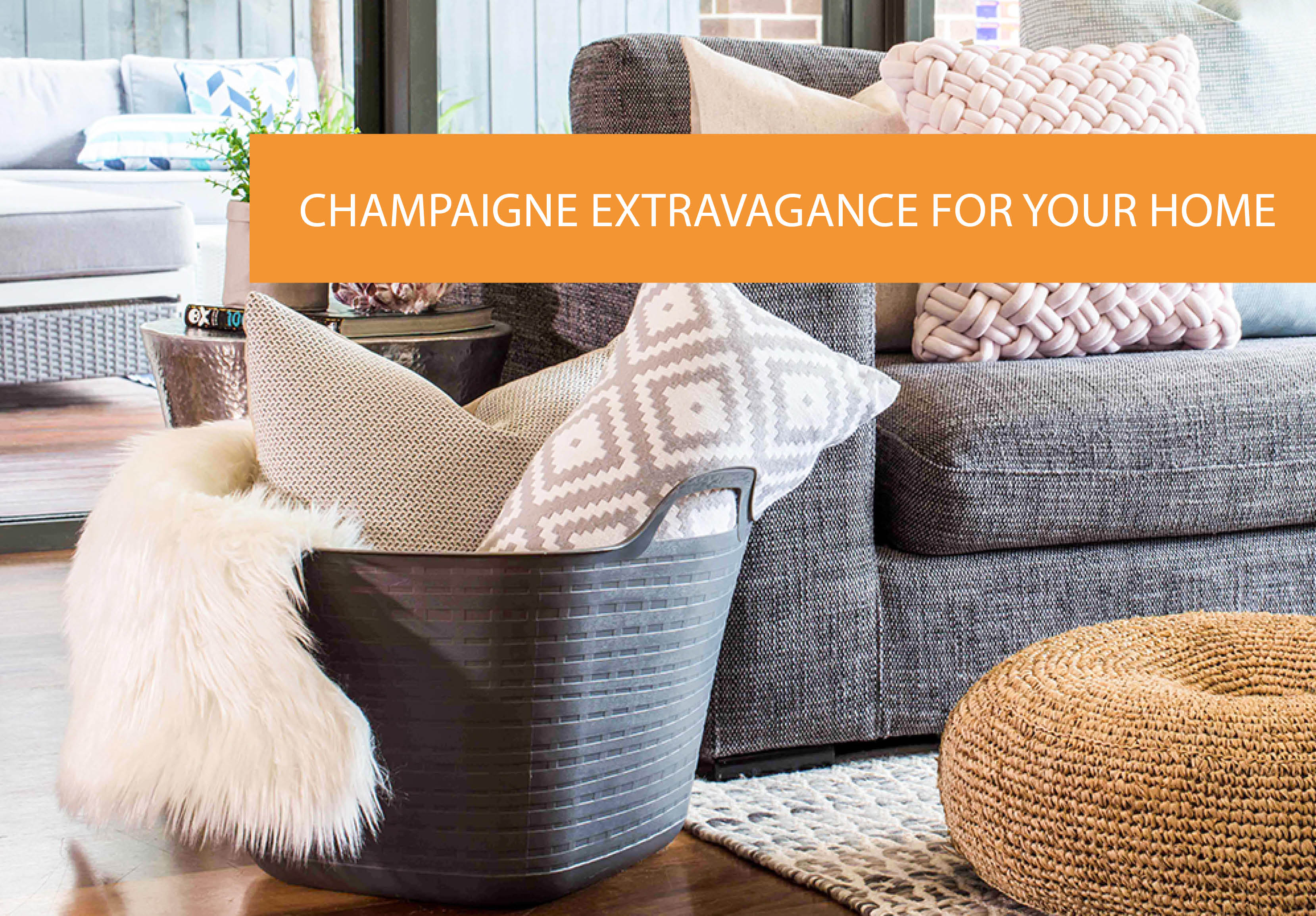 Champagne And Luxury Extravagance For Your Home On A Beer Budget