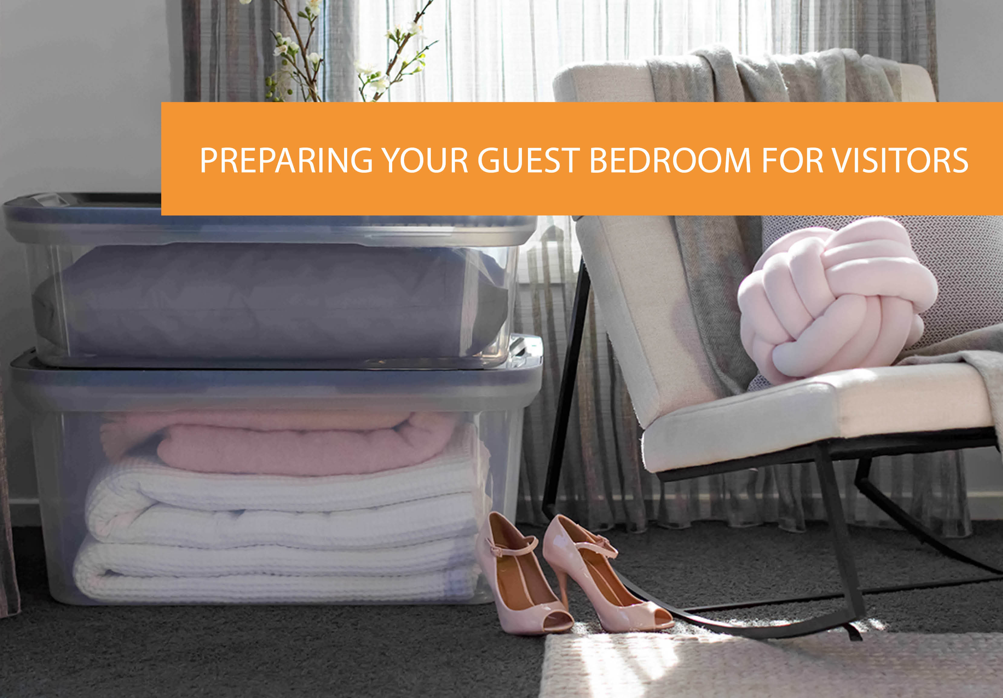 How To Prepare Your Guest Bedroom For Visitors