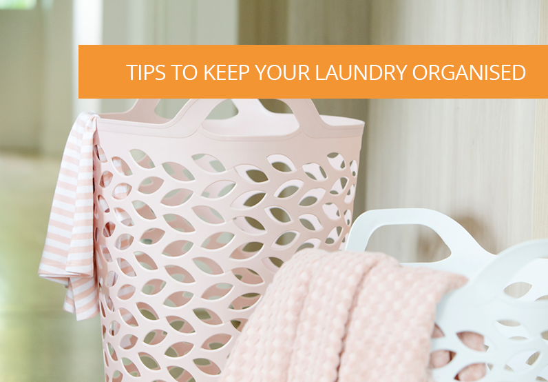 How to Keep your Laundry Storage Organised