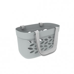 30L Leaf Carry Basket_Fabric Handle_GREY copy