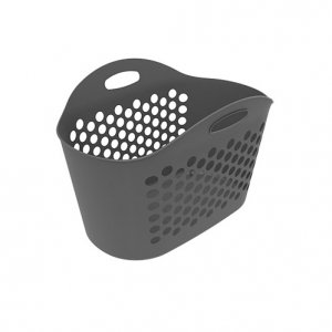 70L Oval Basket Laundry Flexi_GREY copy