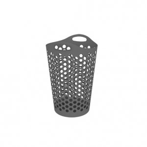 74L Hamper Laundry Flexi_GREY