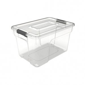 8L Sort It_6 cups + Insert Tray_No Cups or Tray_CLEAR copy